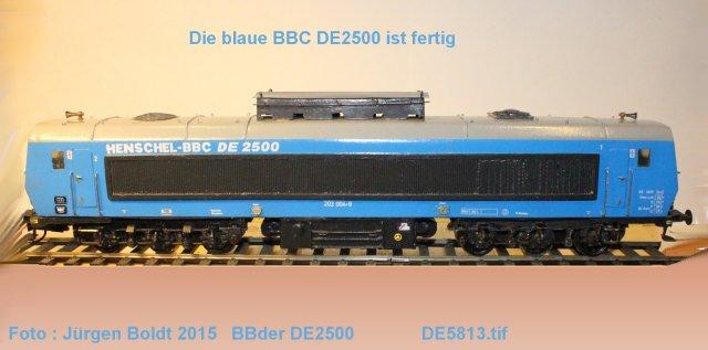 Das dritte Projekt 2014 - Die Henschel-BBC DE2500 Lok in 0 - Seite 3 De581310