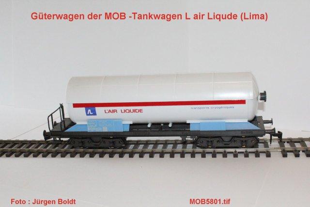 Güterwagen bei der MOB Mob58010