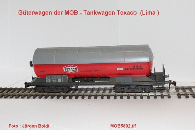 Güterwagen bei der MOB Mob58011
