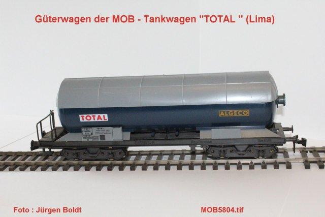 Güterwagen bei der MOB Mob58013