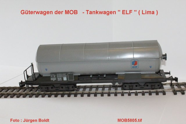 Güterwagen bei der MOB Mob58014