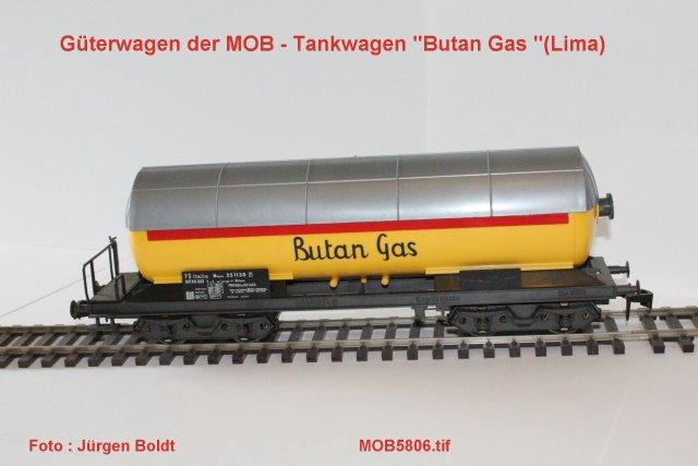 Güterwagen bei der MOB Mob58015