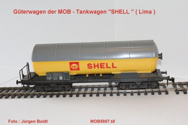 Güterwagen bei der MOB Mob58016