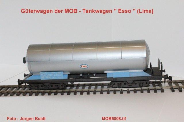 Güterwagen bei der MOB Mob58017
