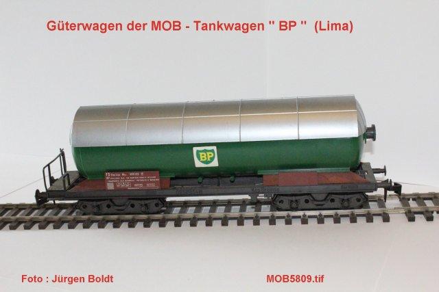 Güterwagen bei der MOB Mob58018