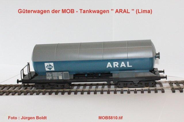 Güterwagen bei der MOB Mob58110