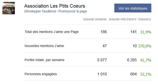 Statistiques d'audience forum et facebook Temp210