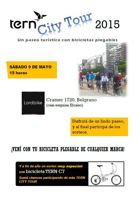 TERN CITY TOUR Sábado 9 de Mayo Flyer10