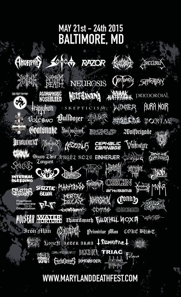 Maryland Deathfest - Baltimore (Maryland) May 22 - 2015 11225210