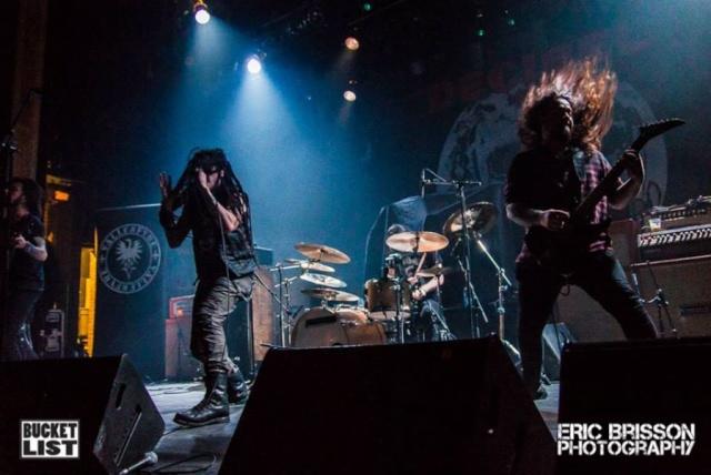 Montréal - Theatre Corona (Québec) April 09 - 2015  Band22