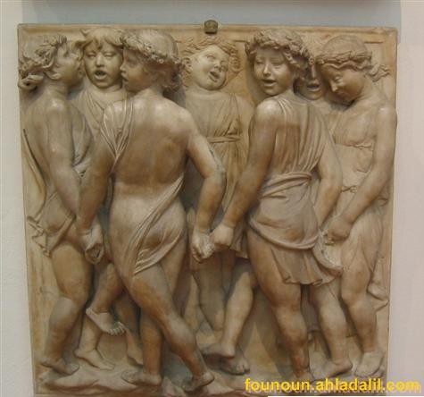 بعض اعمال النحات الايطالي دوناتيلو Bagdad13