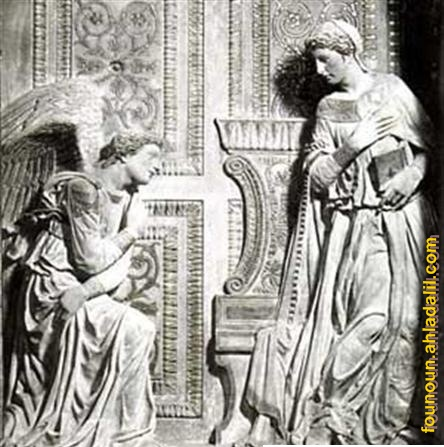 بعض اعمال النحات الايطالي دوناتيلو Bagdad15