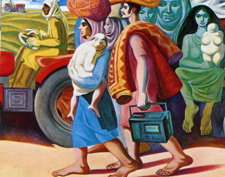 ماهود أحمد فنان تشكيلي عراقي Mahood12