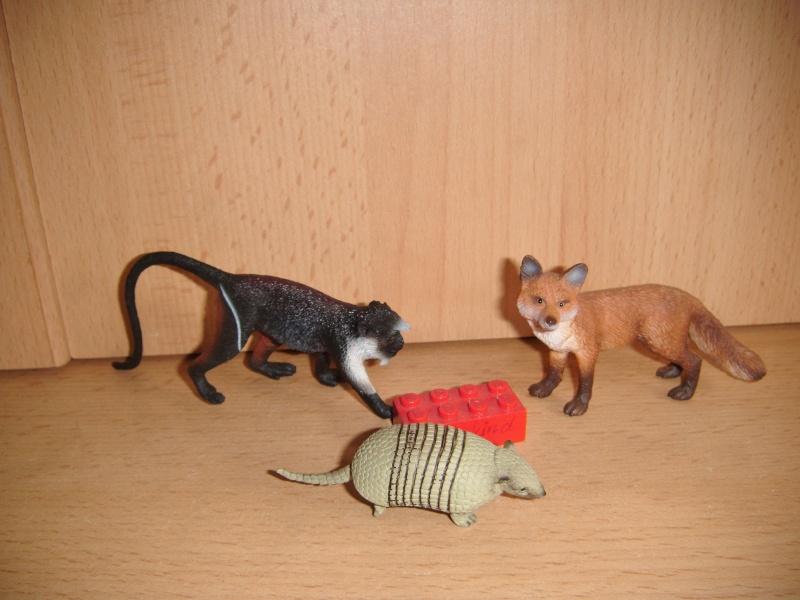 The Eikoh Miniaturplanet animals in my zoo Dscf0433