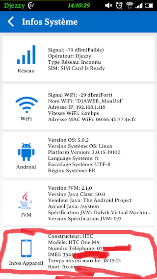 [ROM HTC ONE M7] LOLLIPOP SENSE7 | SundreamRom 7.2.5.8s M7 | 1.40.709.4• [26/05/2015] - Page 3 Screen67