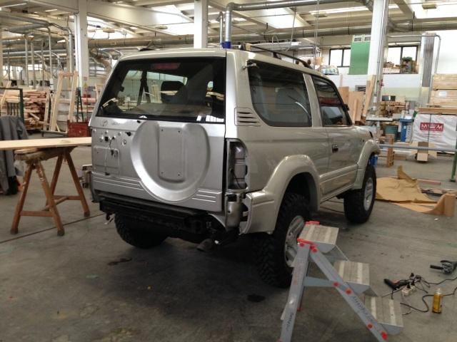 Toyota KDJ 90 (verniciatura fai da te) Img_2710