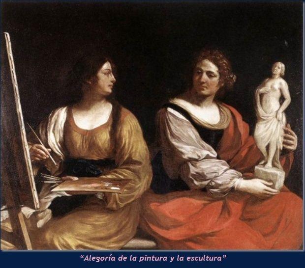 Pintura y escultura, de Il Guercino -octava italiana- Cuadro10