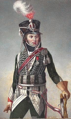 cavalier léger du 12éme régiment (?) 1806  75mm pégaso Capita10