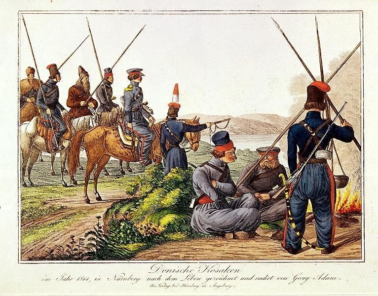 Les cosaques vont refaire la marche du Don jusqu'à Paris Cosaqu13