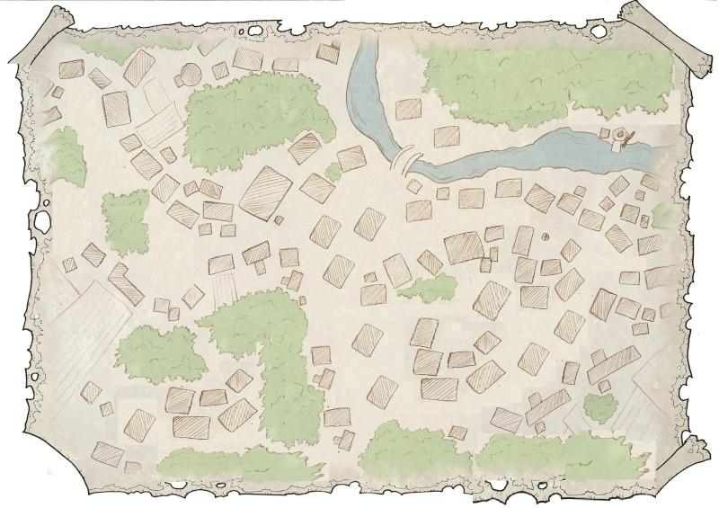 Besoin d'un village, 1 ville pour scénario avec graphismes naheulbeuk Prochr10