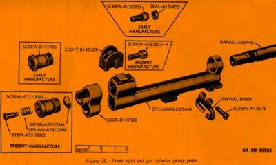 Le Fusil M-1 Garand Eclate13