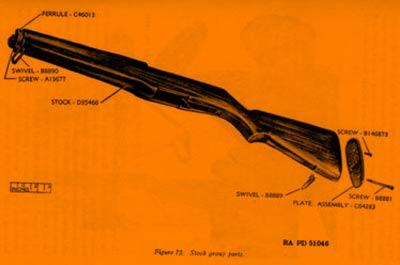 Le Fusil M-1 Garand Eclate16