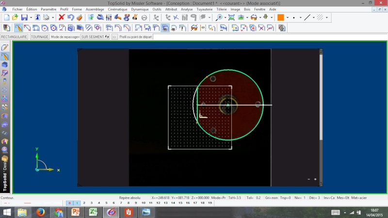 Amélioration Affleureuse Maktec MT372 Profil10