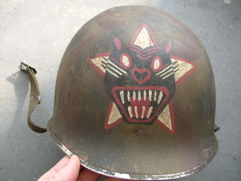 "Coque de casque avec peinture ""guerre vietnam "" 31810"