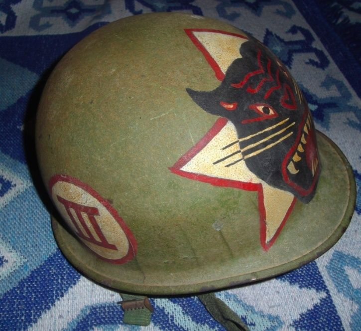 """Coque de casque avec peinture """"guerre vietnam """" Image110"""