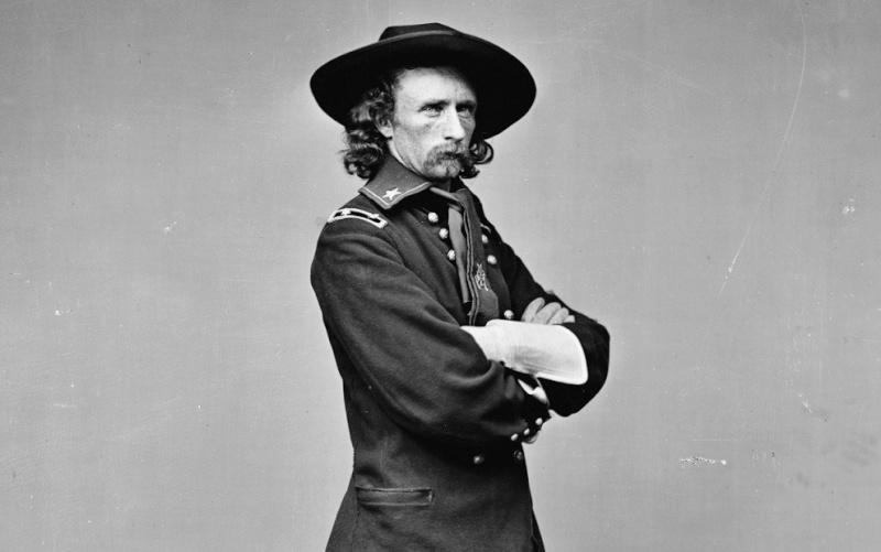 Général Ulysses Lee Custer. Genera10