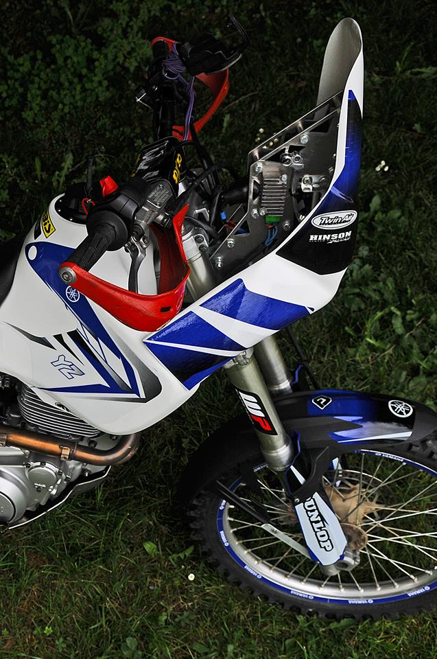 600 TT modifie rallye RAID 11203110