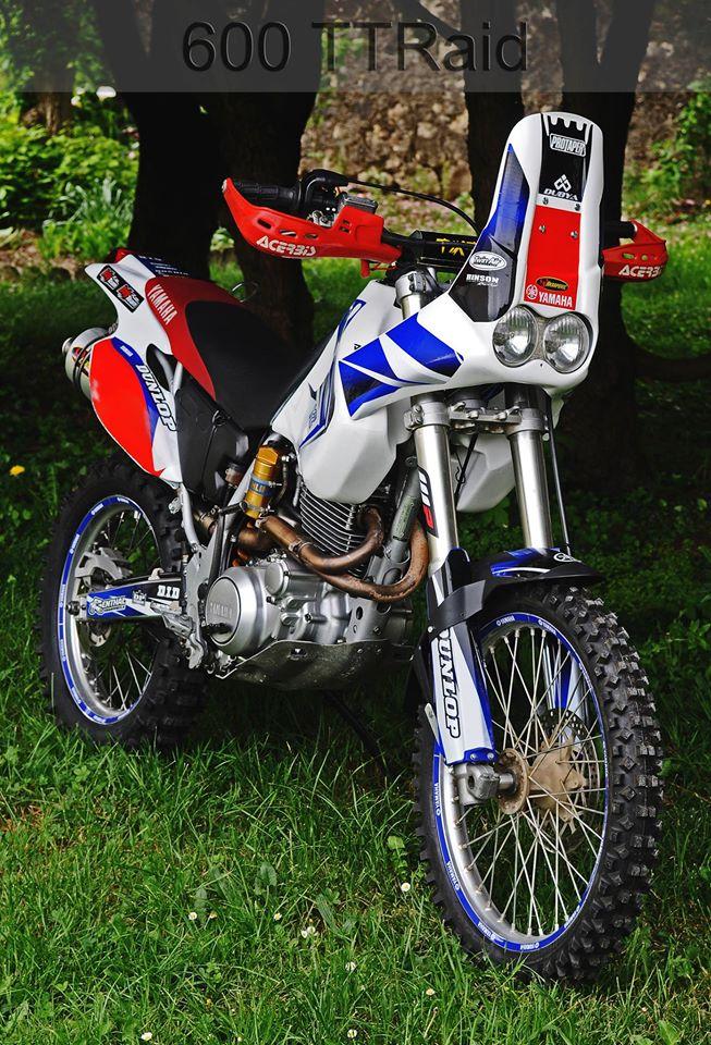 600 TT modifie rallye RAID 11203610