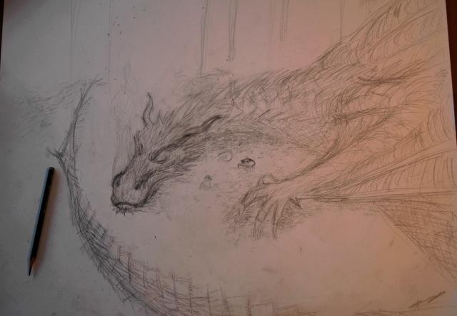 Mes dessins - Page 4 Smaug10