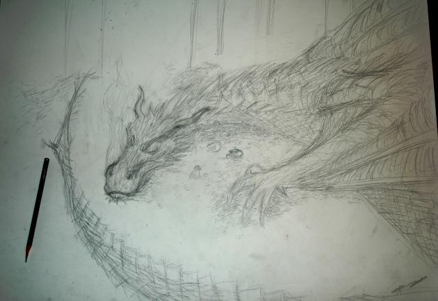 Mes dessins - Page 4 Smaug_10