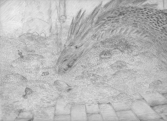 Mes dessins - Page 4 Smaug_11