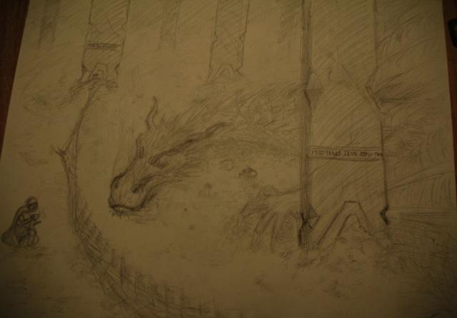 Mes dessins - Page 4 Smaug_12