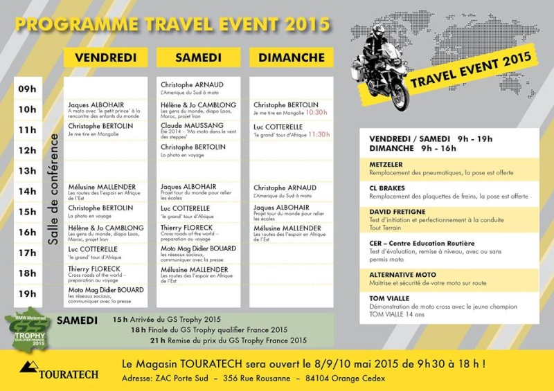 Touratech Travel Event France 2015 - Page 2 11051810