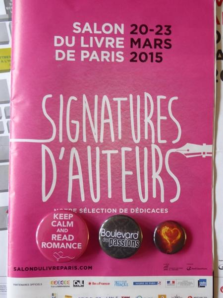 Salon du Livre de Paris - édition 2015  P1030110