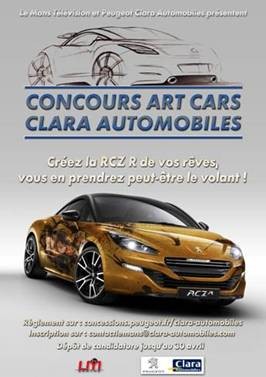 Concours RCZ R ART CAR 11370110