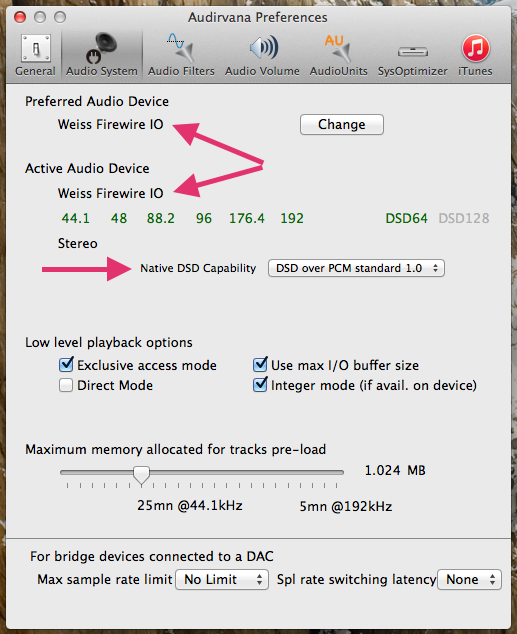 Cambridge Audio DAC Magic su iMac HELP Mptwsk10