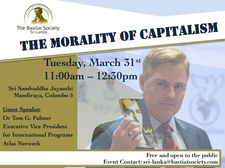 Open Invitation for Sri Lanka Equity Members - Seminar from Austrian Economist Dr. Tom Palmer 19201710
