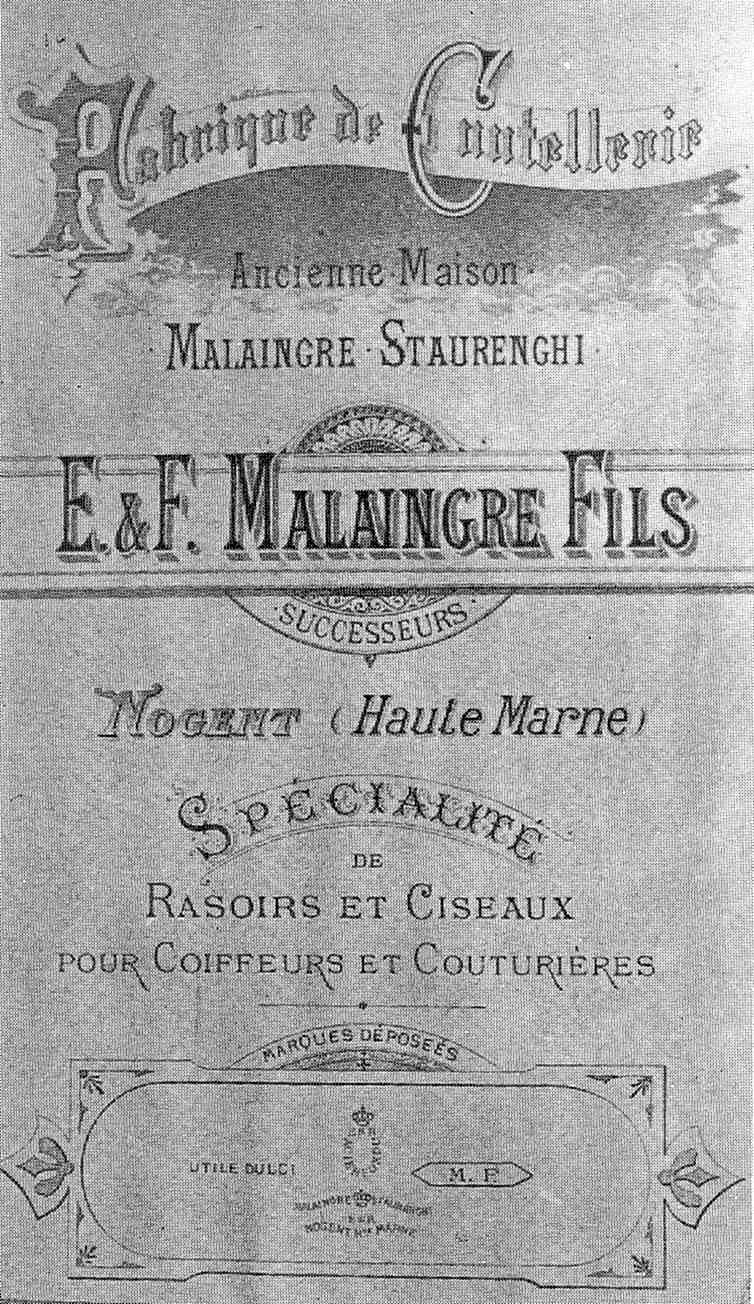 Malaingre (ou Malingre ?) Staurenghi ESR Nogent s/Marne Malain10