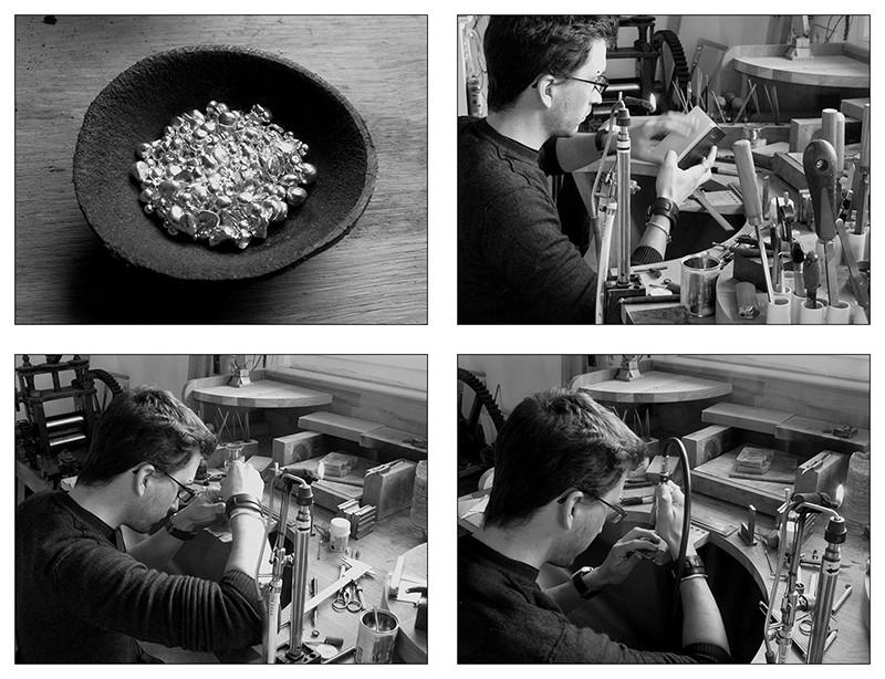 Boucles d'oreille en argent/oxyde de zirconium et petit reportage photo Ytape_11
