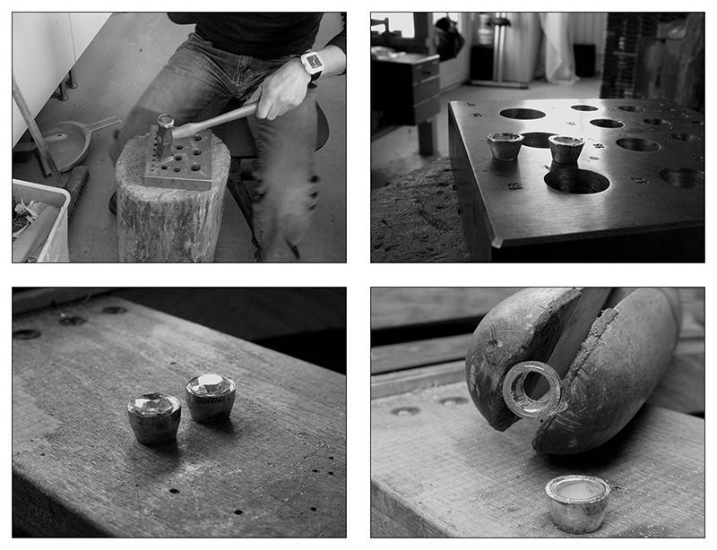 Boucles d'oreille en argent/oxyde de zirconium et petit reportage photo Ytape_14