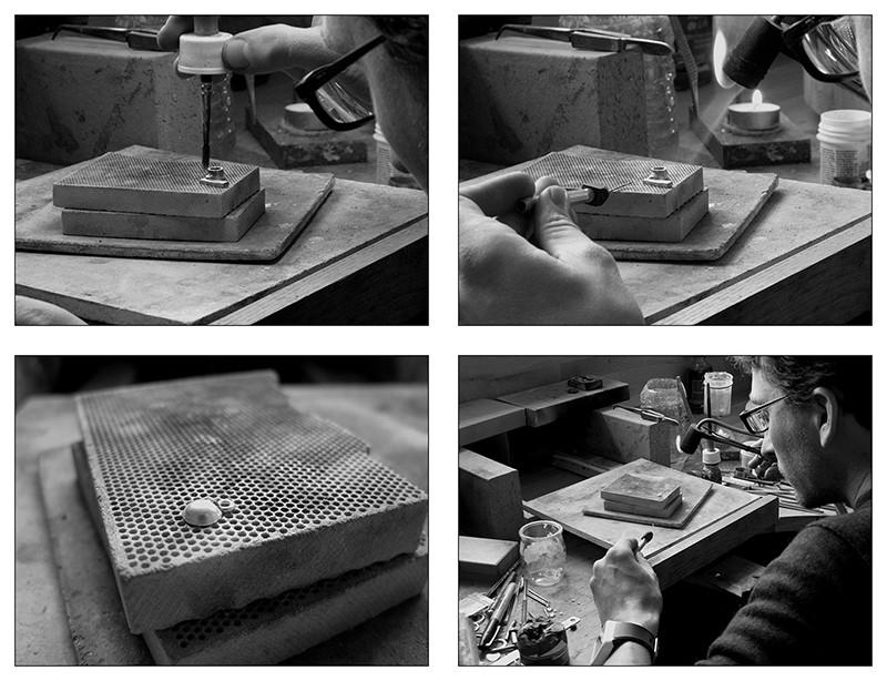 Boucles d'oreille en argent/oxyde de zirconium et petit reportage photo Ytape_16
