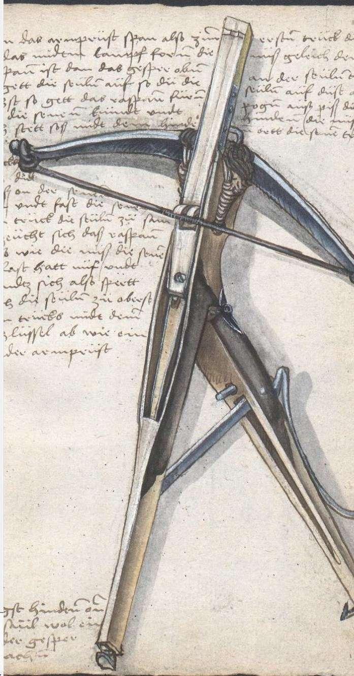 A selfspanning crossbow in the Loeffelholz MS Selfsp11