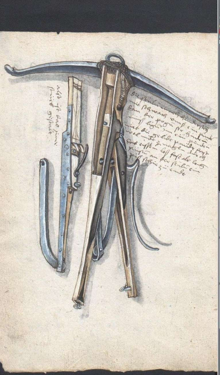 A selfspanning crossbow in the Loeffelholz MS Selfsp12
