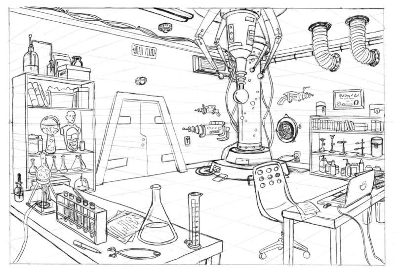 [help] Diorama scientifique pour pullip Horrib10