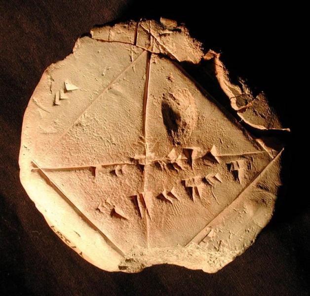 Storia e curiosità su Pi greco Bab_9010