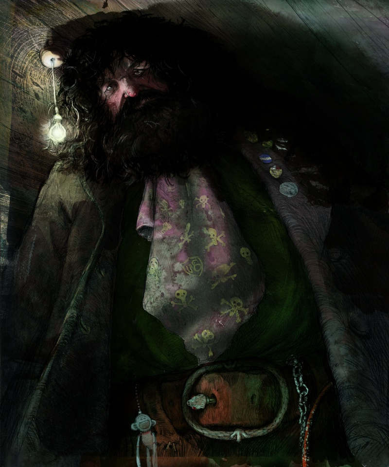 Réédition HP  :  un tome par an. - Page 2 Hagrid10
